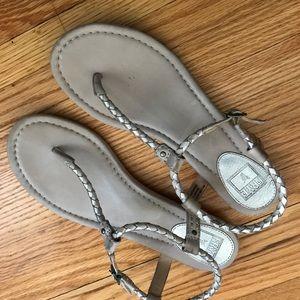 Frye Sandals- Madison Braided Flat